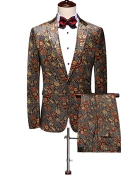 Ericdress Fashion One Button Men's Dress Suit