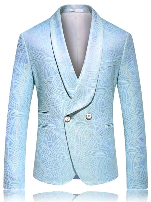 Ericdress Fashion Notched Lapel Single-Breasted Men's leisure Blazers