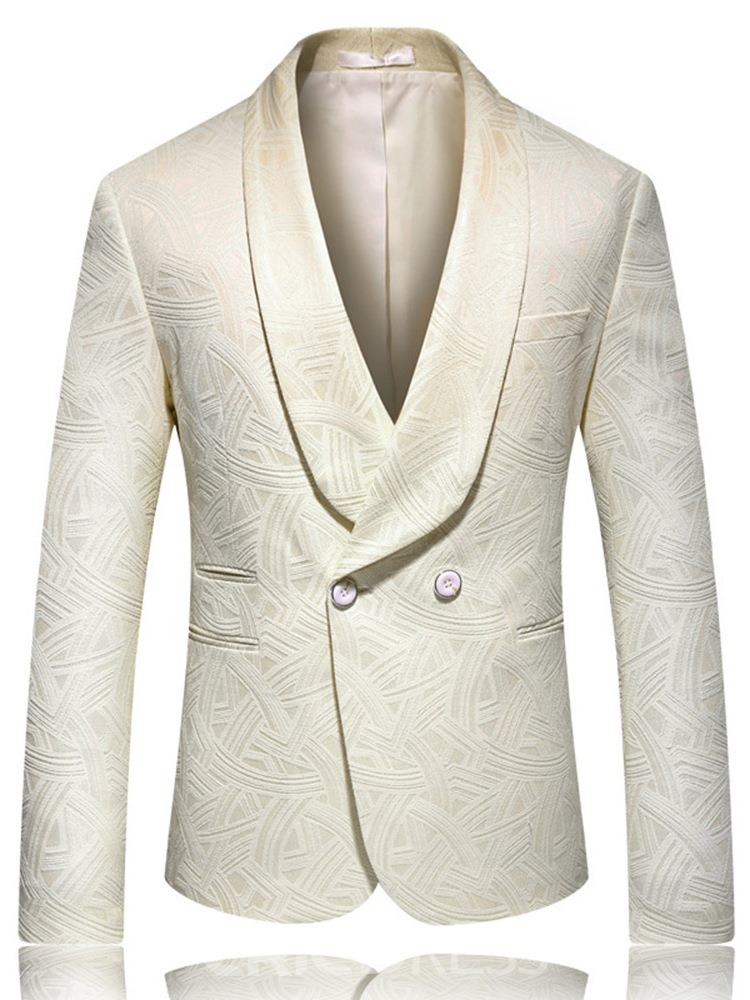 Ericdress Double-Breasted Fashion Button Men's leisure Blazers