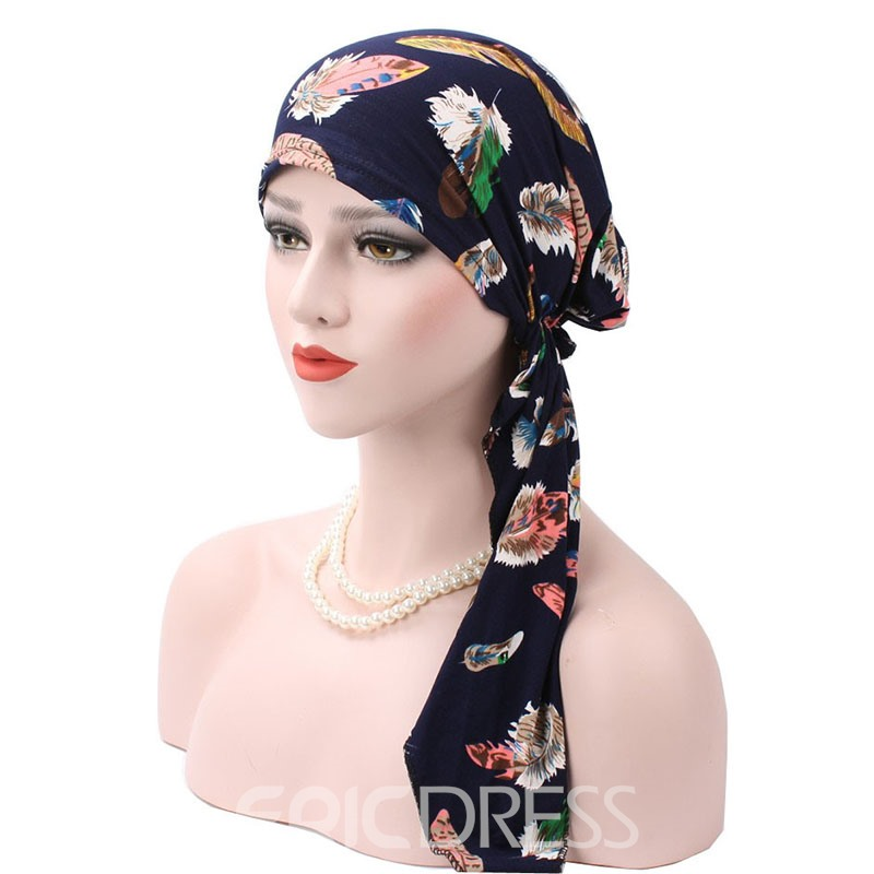 Ericdress Skullies & Beanies Ethnic Floral Summer Hat