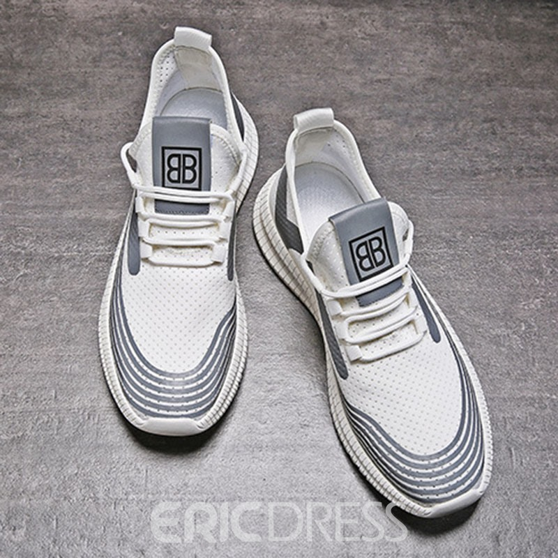 Ericdress Patchwork Slip-On Low-Cut Upper Mesh Men's Sneakers