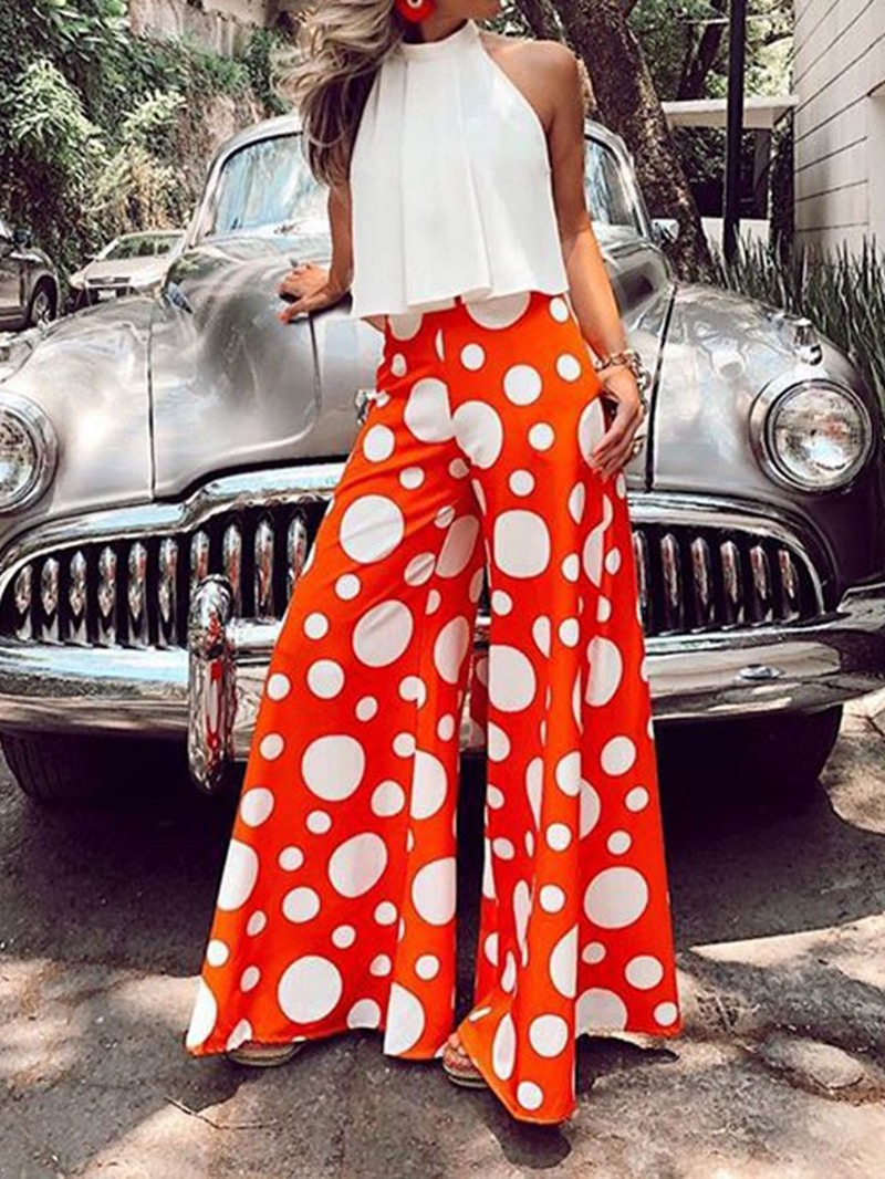 Ericdress_Polka_Dots_Patchwork_Loose_High_Waist_Jumpsuit