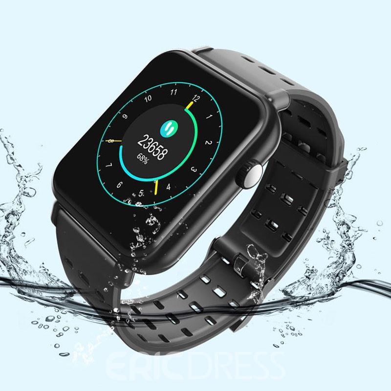 Ericdress Silicon Unisex Smart Watch