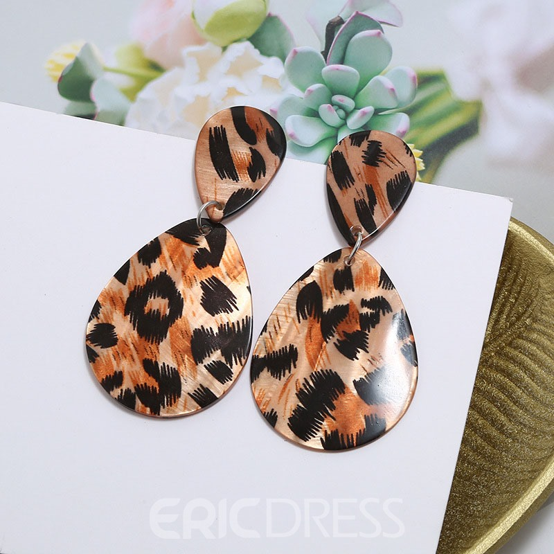 Ericdress Leopard Fashion Earrings