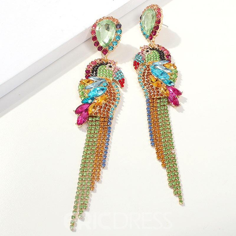 Ericdress Alloy Animal Dimante Earrings