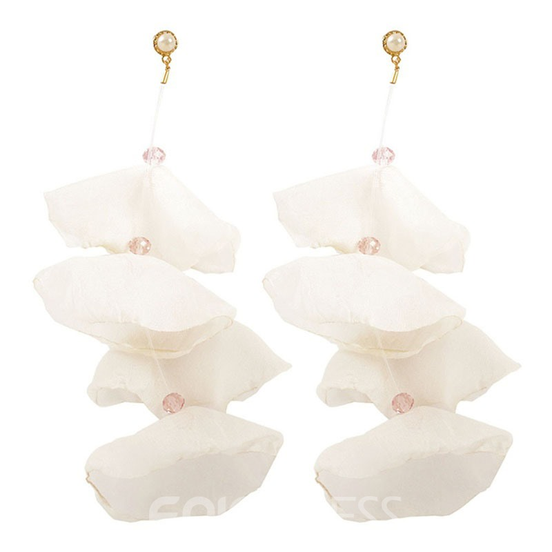Ericdress Alloy Flower Holiday Earring