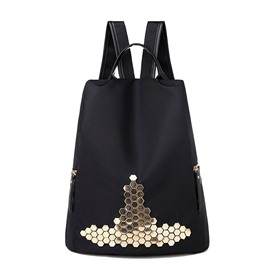 Ericdress Rivet Oxford Backpack