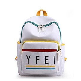 Ericdress Print Nylon Letter Backpack