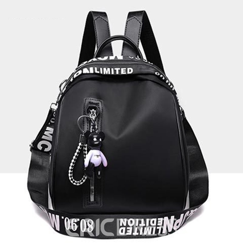 Ericdress Fashion Print Oxford Letter Backpack