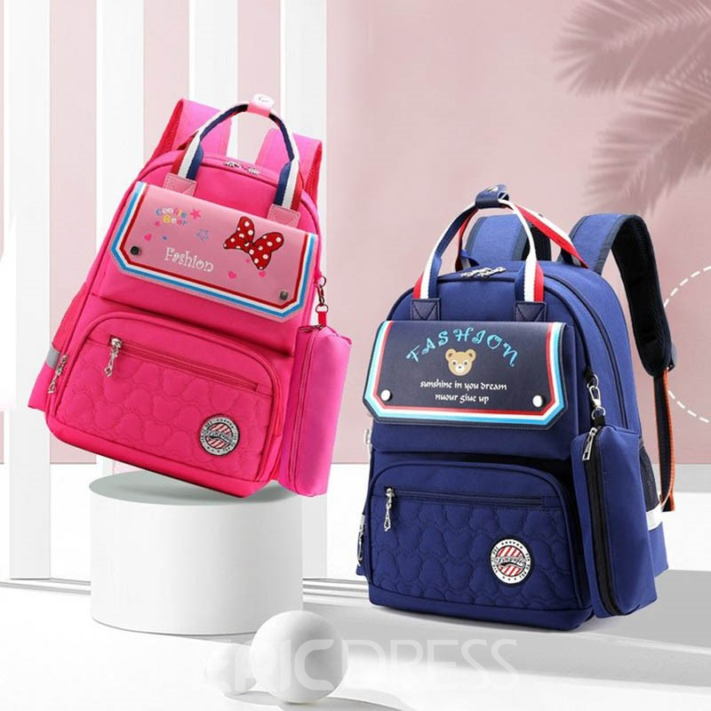 Ericdress Colour Print Nylon Backpack