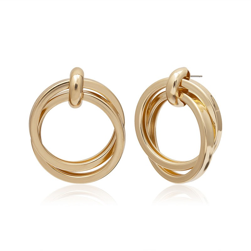 Ericdress Alloy Fashion Plain Hoop Earrings