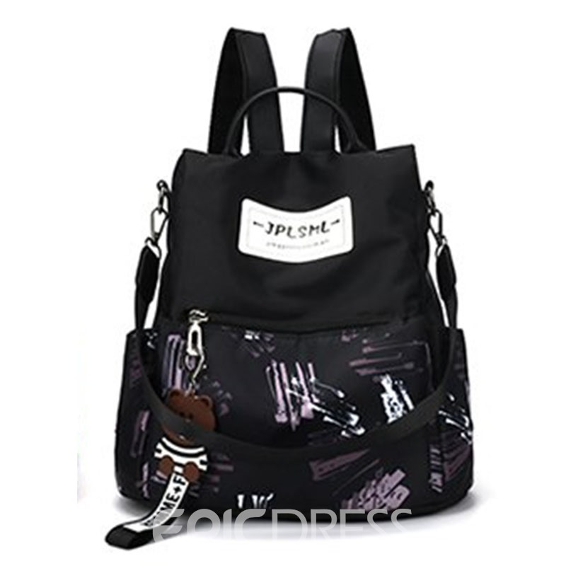 Ericdress Print Oxford Backpack
