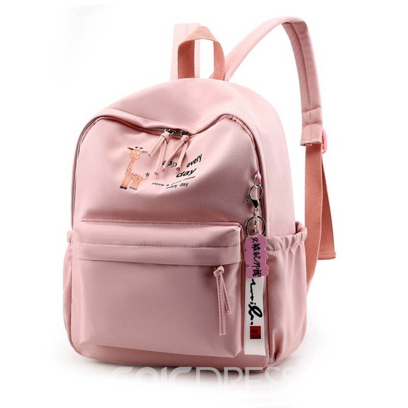 Ericdress Print Refreshingly Cartoon Oxford Backpack