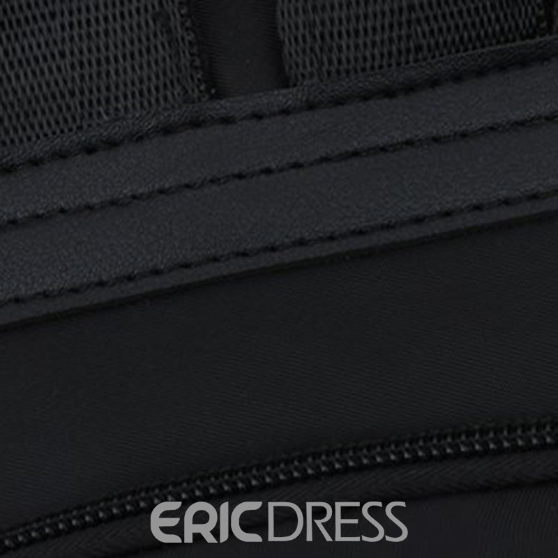 Ericdress Feather Oxford Print Backpack