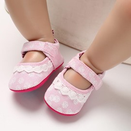 Ericdress Cotton Color Block Baby Shoes