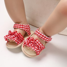 Ericdress Plaid Baby Shoes