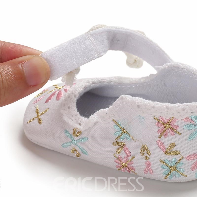 Ericdress Embroidery Baby Shoes
