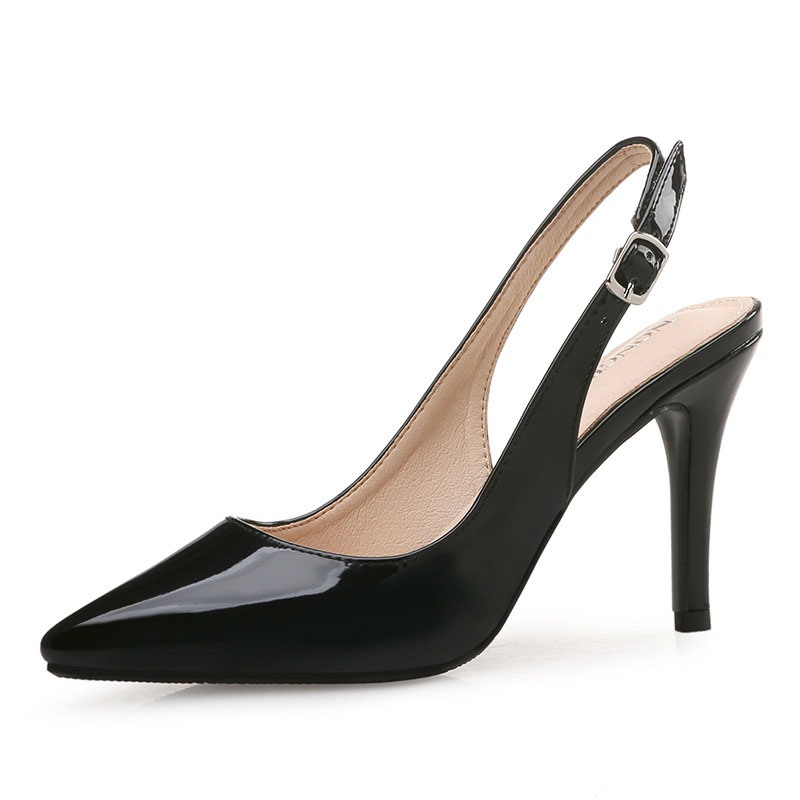 Ericdress Pointed Toe Slingback Strap Stiletto Heel Women's Pumps