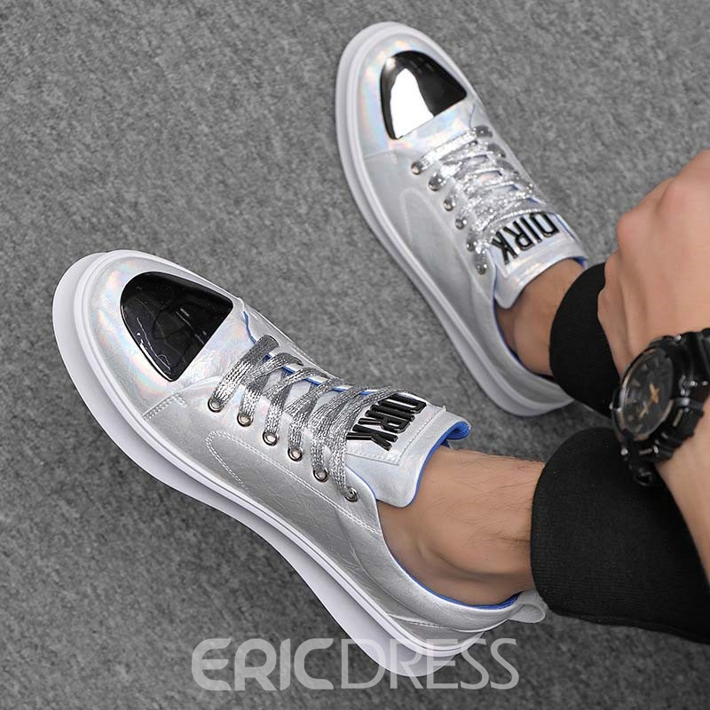 Ericdress Color Block Low-Cut oberen Schnürschuh runde Kappe Skateschuhe