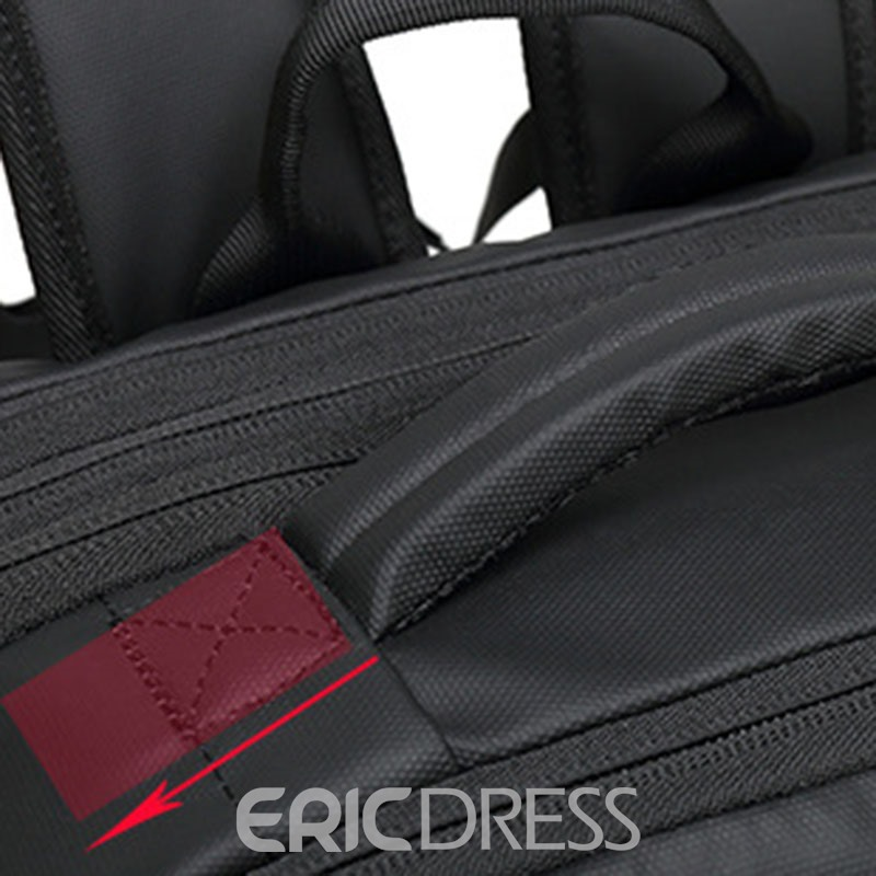 Ericdress Thread Oxford Plain Backpack