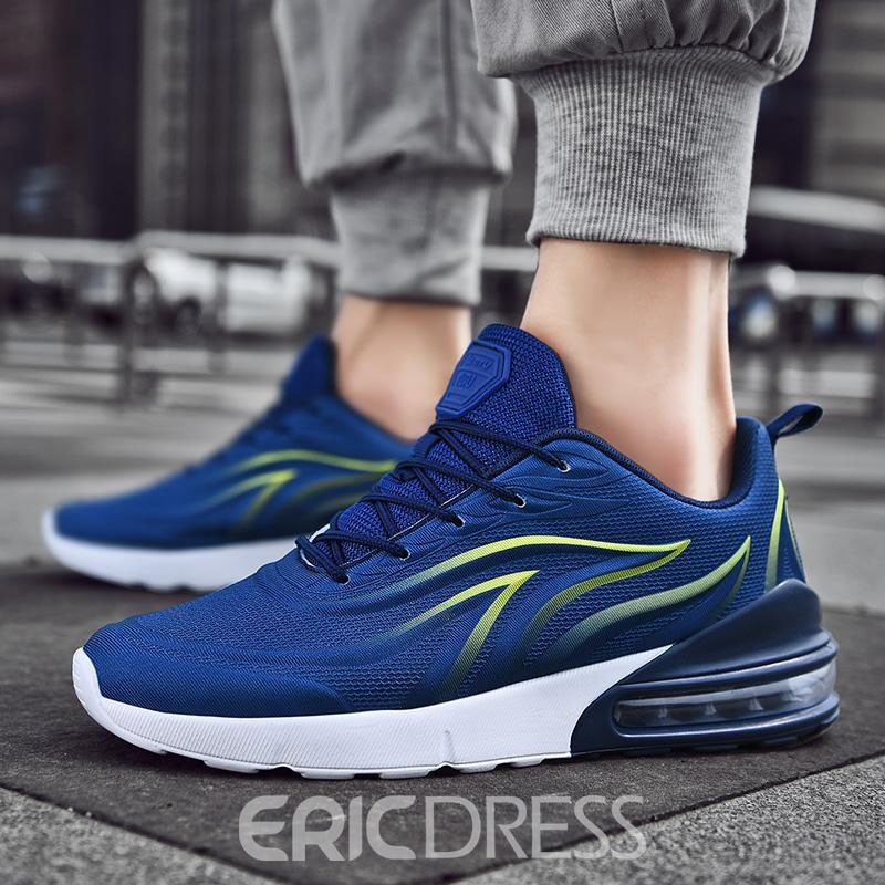 Ericdress Color Block Lace-Up Men's Outdoor Sneakers