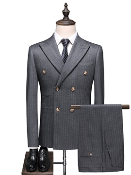 Ericdress Pocket Fashion Men's Dress Suit