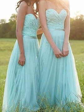 Ericdress Sweetheart A-Line Lace Bridesmaid Dress 2019