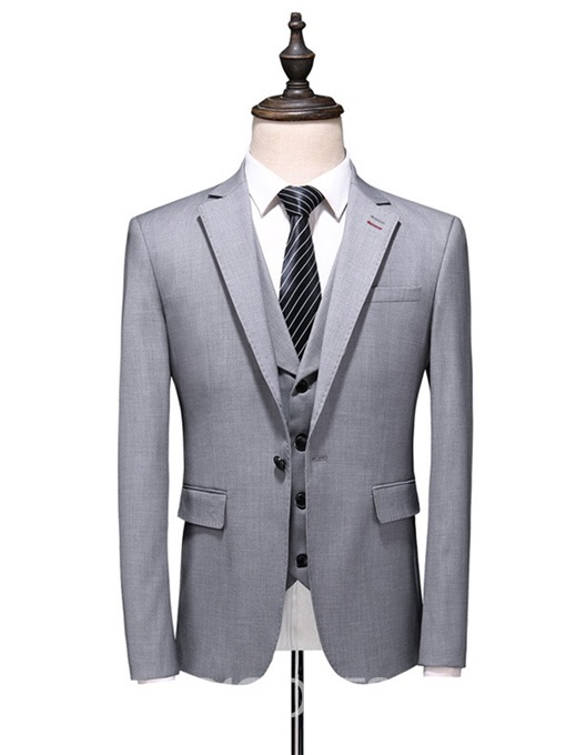 Ericdress Fashion Button Men's Dress Suit