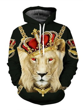 Ericdress 3D Animal Pullover Men's Loose Hoodies