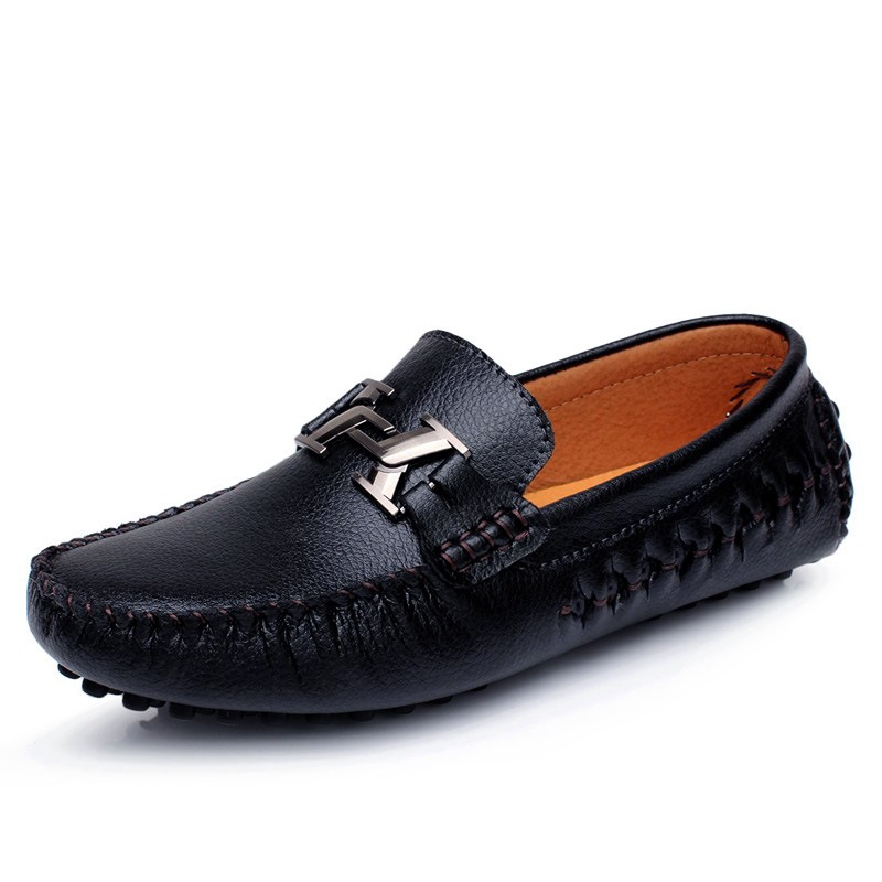 Ericdress Soft Leather Low-Cut Upper Men's Loafers Shoes