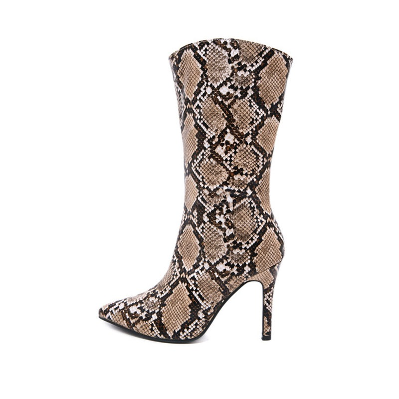Ericdress_Serpentine_Stiletto_Heel_Color_Block_Pointed_Toe_Womens_Ankle_Boots