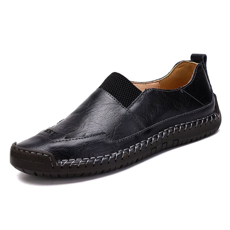 Ericdress Plain Slip-On Round Toe Men's Simple Shoes