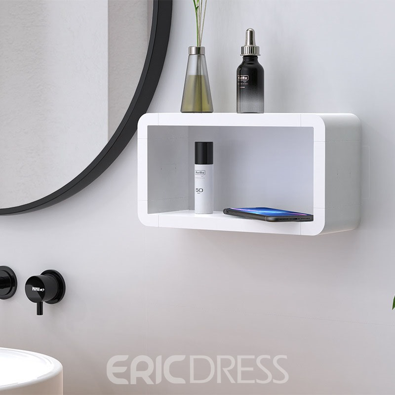Ericdress Bathroom Organization Shower Shelf Tray Waterproof
