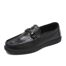 Ericdress Plain Round Toe Slip-On Men's Casual Loafers