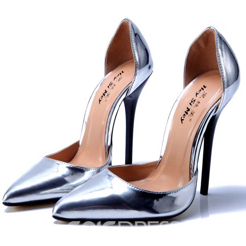 Ericdress PU Slip-On Pointed Toe Women's Prom Shoes