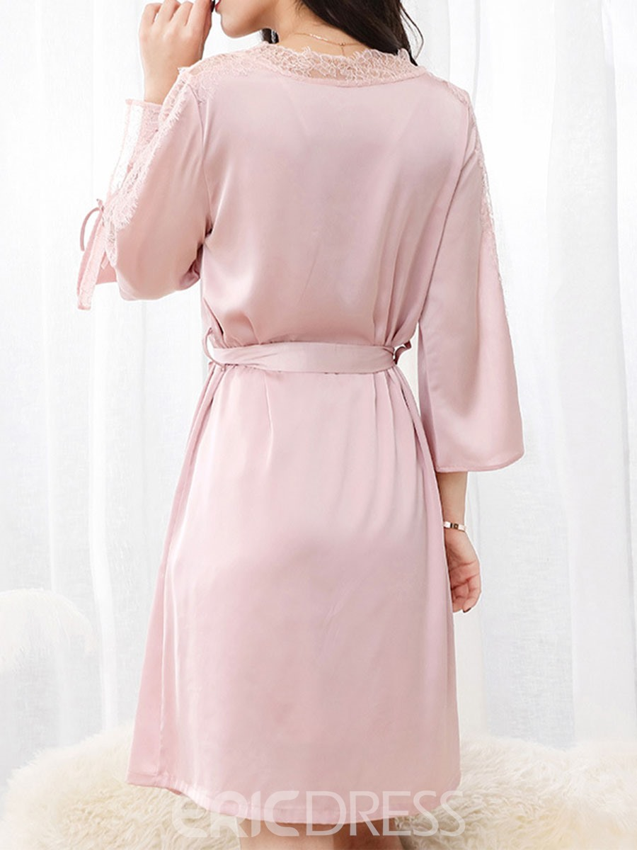 Ericdress Sexy Polyester V-Neck Pajama Suit
