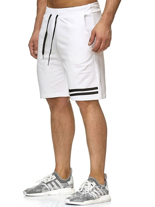 Ericdress Loose Color Block Lace-Up Men's Fashion Shorts