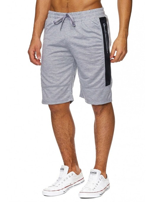 Ericdress Loose Pocket Fashion Men's Lace-Up Shorts