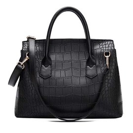 Ericdress Business Alligator Rectangle Tote Bag
