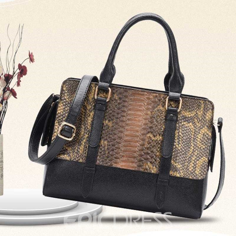 Ericdress Serpentine Fashion Tote Bag