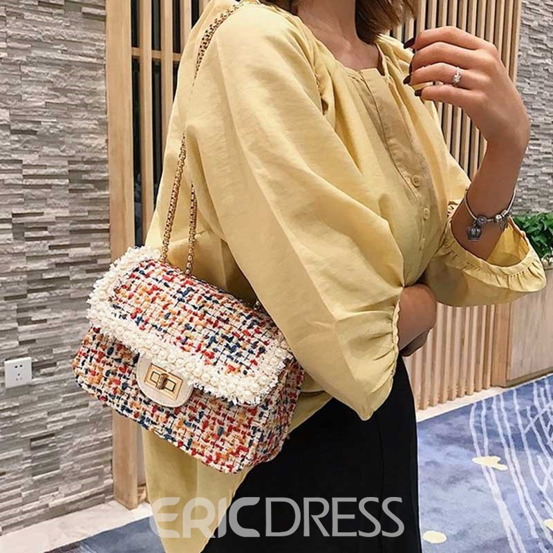 Ericdress Lace Flap Cordillas Crossbody Bags