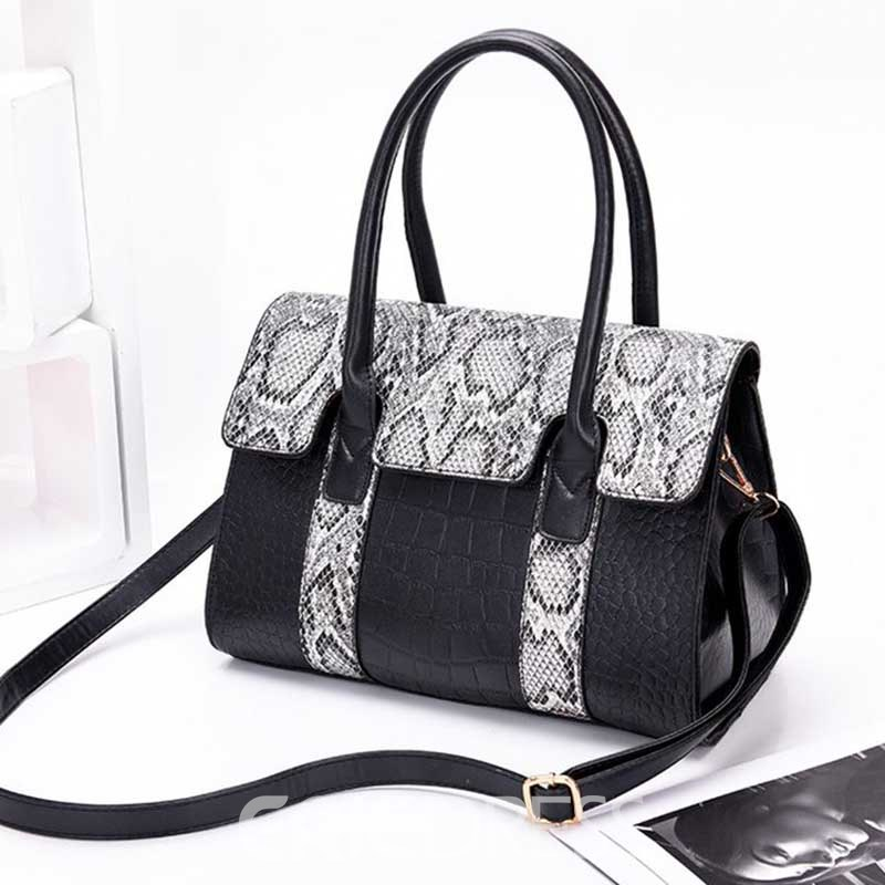 Ericdress Thread Serpentine Rectangle Tote Bag
