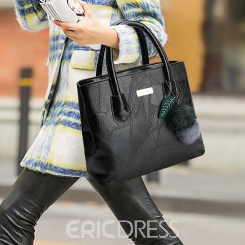 Ericdress PU Thread Rectangle Tote Bags