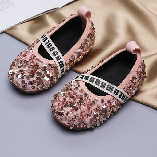 Ericdress Princess Fall Letter Baby Shoes