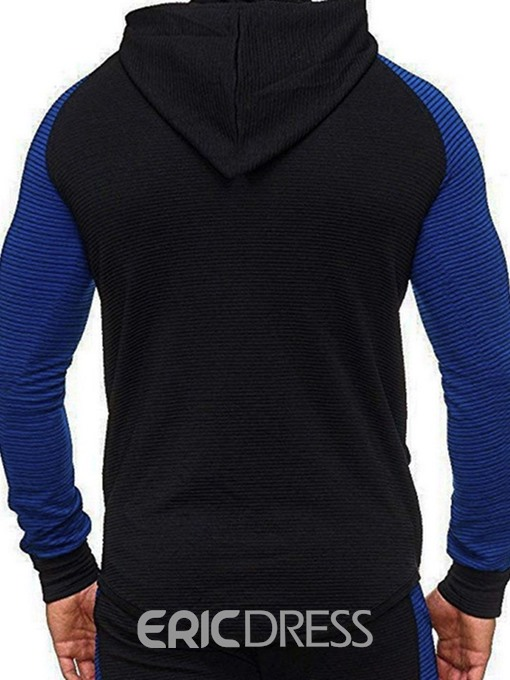 Ericdress Regular Print Pullover Men's Fall Hoodies