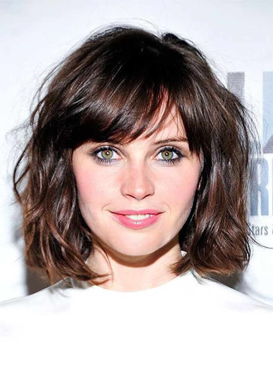 Ericdress Short Layered Hairstyle Women's Natural Straight Synthetic Hair Capless Wigs 16Inches