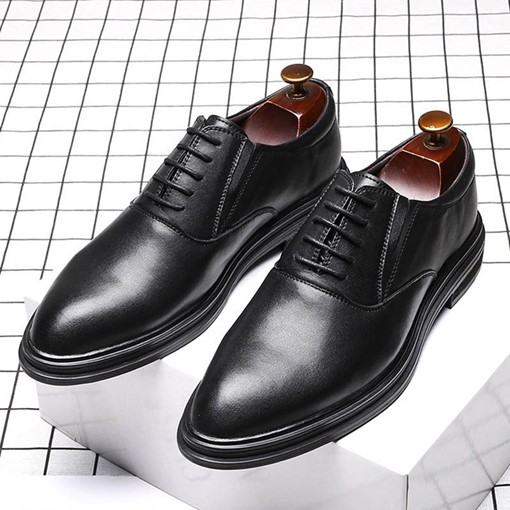 Ericdress Plain Pointed Toe Low-Cut Upper Men's Shoes