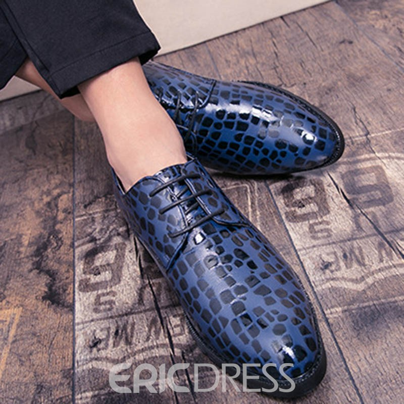 Ericdress Pointed Toe Low-Cut Upper Men's Dress Shoes