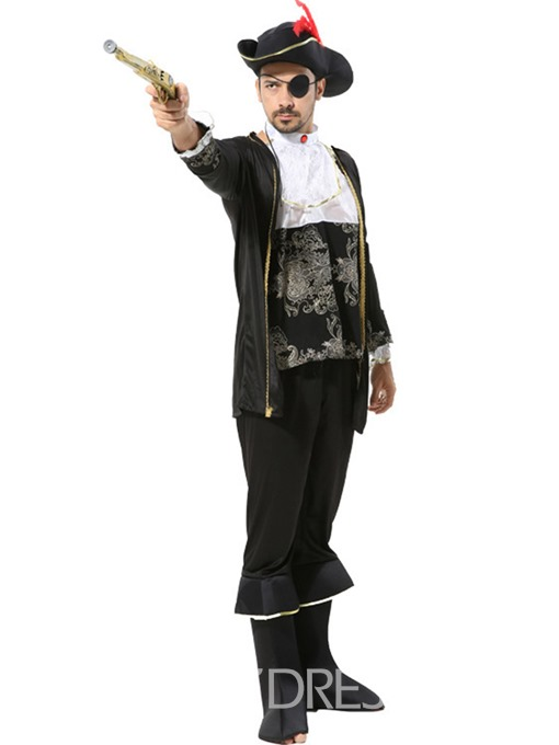 Ericdress Embroidery Polyester Nine Points Sleeve Costumes