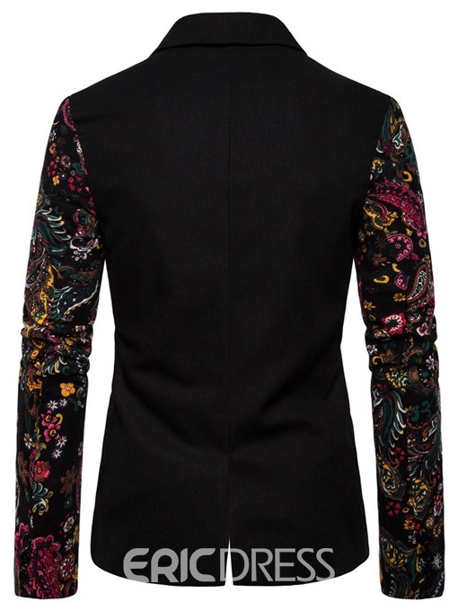 Ericdress Casual Notched Lapel Single-Breasted Men's leisure Blazer